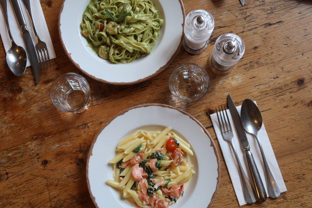 Mittagstisch im tialini mit Pasta